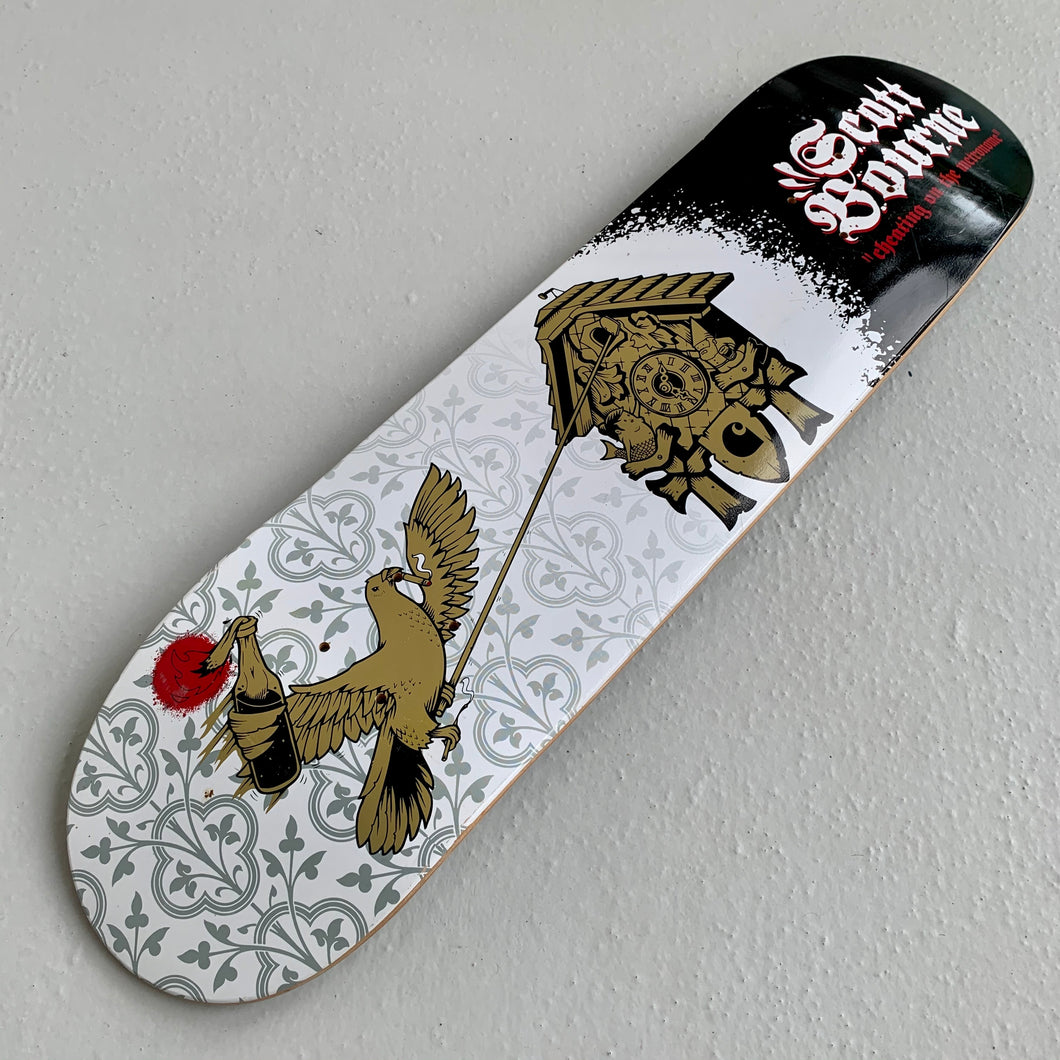 Skateboard Deck Carhartt Scott Bourne 2008