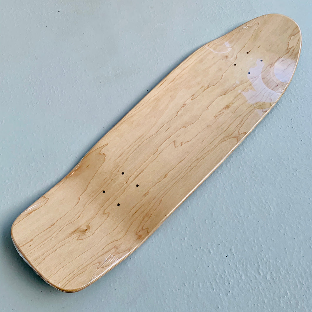 Skateboard Deck vintage shape