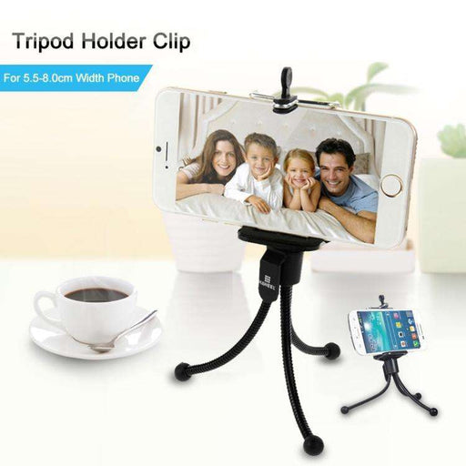 Tripod Stativ med holder for mobiltelefon-Lagerpriser.no