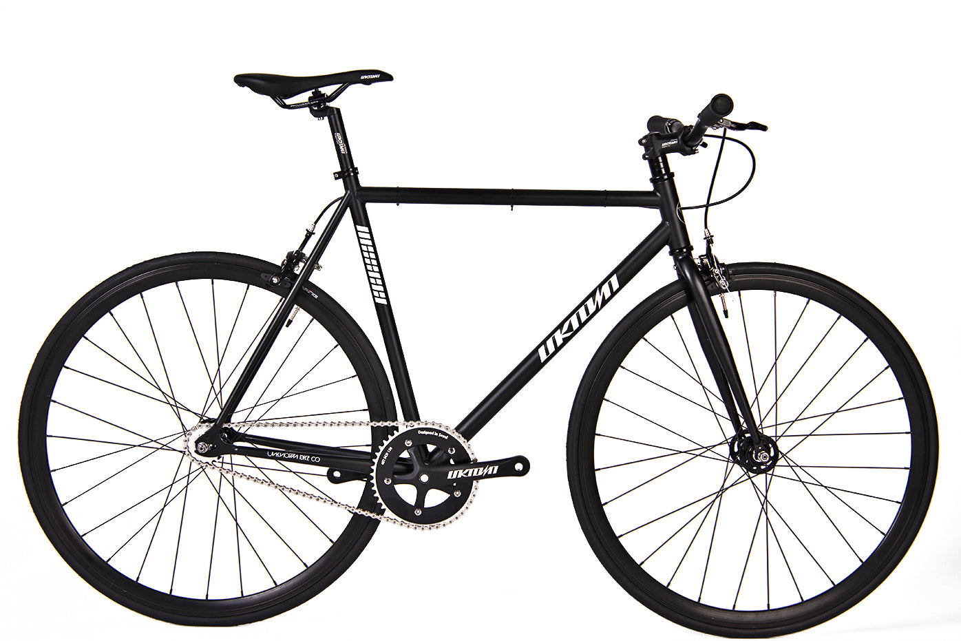 new arrivals 97ce0 dd724 Fixie Fixed gear Unknown Bikes sc-1 black front ...