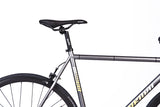 Fixie Fixed gear  Unknown Bikes sc-1 gray saddle