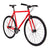 Fixie Fixed gear  Unknown Bikes sc-1 red front side