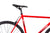 Fixie Fixed gear  Unknown Bikes sc-1 red saddle