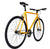 Fixie Fixed gear  Unknown Bikes sc-1 yellow front rear