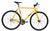 Fixie Fixed gear  Unknown Bikes sc-1 yellow front