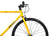 Fixie Fixed gear  Unknown Bikes sc-1 yellow handlebar