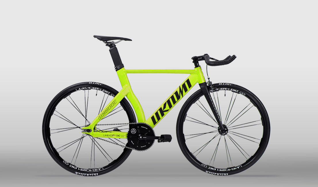 UNKNOWN TYPE-2 LIMITED NEON YELLOW FIXED GEAR | COMPLETE BICYCLE ...
