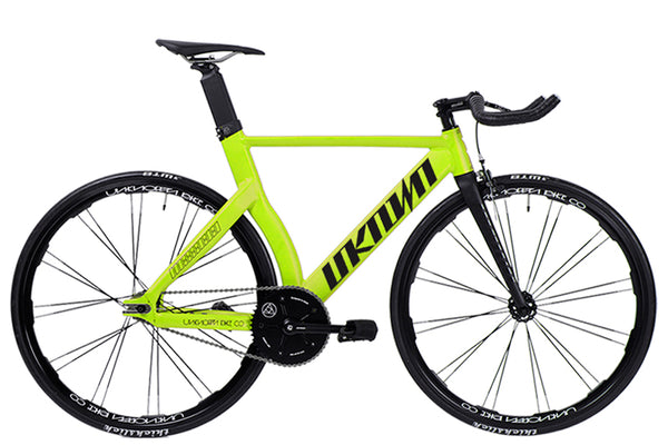 UNKNOWN TYPE-2 LIMITED NEON YELLOW FIXED GEAR | COMPLETE BICYCLE