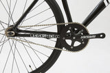 Unknown Bikes Fixed Gear PS1 Single Speed Black Chain Wheel