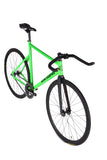 Unknown Bikes Fixed Gear PS1 Single Speed Green Bullhorns
