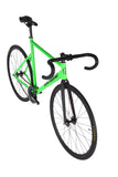 Unknown Bikes Fixed Gear PS1 Single Speed Green Dropbars