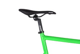 Unknown Bikes Fixed Gear PS1 Single Speed Green Saddle