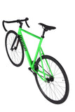 Unknown Bikes Fixed Gear PS1 Single Speed Green Handlebars