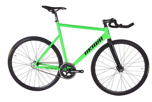 Unknown Bikes Fixed Gear PS1 Single Speed Green Complete Bicycle
