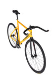 Unknown Bikes Fixed Gear PS1 Single Speed Yellow Bullhorns