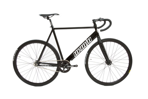 Unknown Bikes Fixed Gear Paradigm Fixie Track Bike Black Complete Bicycle