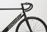 Unknown Bikes Fixed Gear Paradigm Fixie Track Bike Black Drop Bars