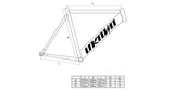 Geometry Unknown Bikes Fixed Gear Paradigm Fixie Track Bike Black
