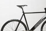 Unknown Bikes Fixed Gear Paradigm Fixie Track Bike Black Saddle