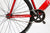 Unknown Bikes Fixed Gear Paradigm Fixie Track Bike Red Crankset