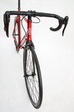 Unknown Bikes Fixed Gear Paradigm Fixie Track Bike Red Handlebars