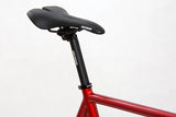 Unknown Bikes Fixed Gear Paradigm Fixie Track Bike Red Seatpost