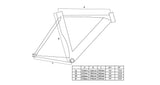 Geometry Unknown Bikes Fixed Gear Singularity Fixie Track Bike