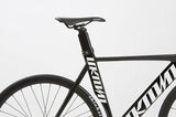 Unknown Bikes Fixedgear Singularity Fixie Track Bike Black Saddle