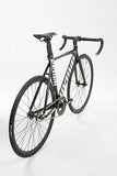 Unknown Bike Fixed Gear Singularity Fixie Track Bike Black Wheelset