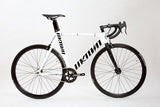 Unknown Bikes Fixed Gear Singularity Fixie Track Bike White Centre