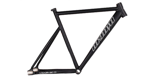 Unknown Bikes Fixie PS1 Frame Black Carbon Fork