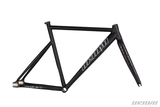 Unknown Bike Fixie PS1 Frame Black Carbon Fork Side