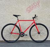 Fixie Fixed gear  Unknown Bikes sc-1 red outside