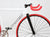 Unknown Bikes Fixed Gear Fixie Carbon Alloy Fork Single Speed Bicycle Detail