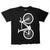 Unknown Bikes Fixed Gear Fixie Single Speed T-shirt Black Front