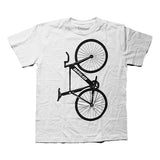 Unknown Bikes Fixed Gear Fixie Single Speed T-shirt White Front