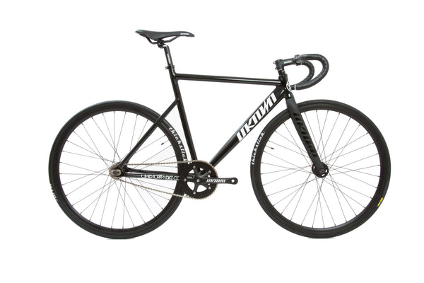 UNKNOWN PS1 BLACK FIXED GEAR | COMPLETE BICYCLE