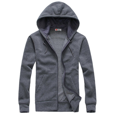 New Fashion 2018 Men Hoodies Cotton Jackets Tracksuit