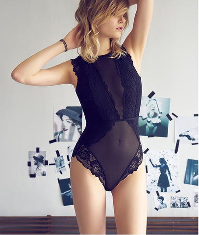 Spotlight on Lace Bodysuit