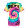 Colored Alien Print Tee Shirt