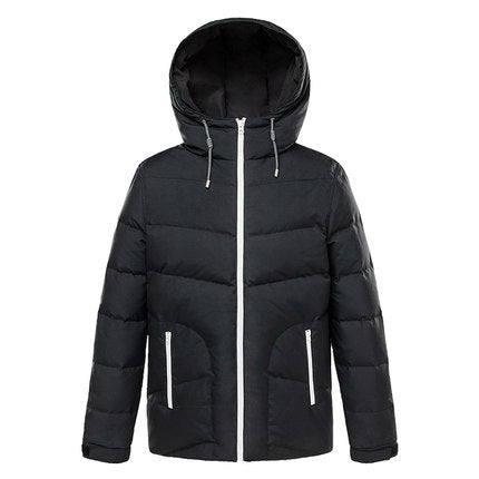 Markless New Men's Winter Casual Jackets Hooded Polyester