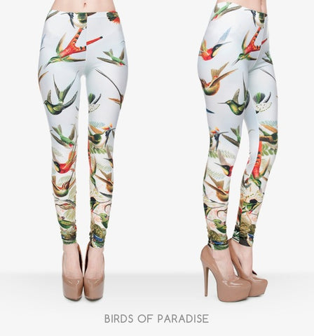 Bird of Paradise Unicorn Leggings