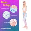 Gradient Light Print Mandala Legging