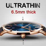 Ultra thin Men's Watche