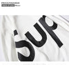 2018 Privathinker Basic Hoodies Men Sweatshirt Letter Sup Print Cotton Long Sleeve