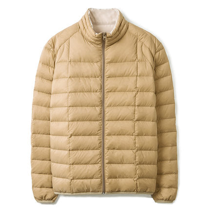 Markless 2018 Winter Casual Light White Duck Down Jackets