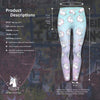 Horse Wings Printed Unicorn Legging