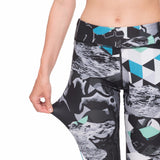 Tattoo Printed Fitness Legging