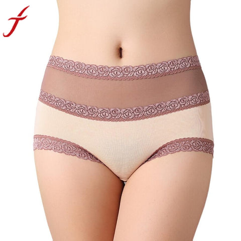 Women's Underpants Cotton Lace Panties