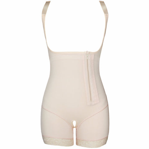 Mid-Thigh and Open-Bust Bodysuit